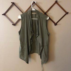 Max Jeans Medium Green Vest- so soft!!!!